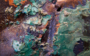 Copper sheathing corrosion